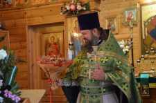 День памяти Преподобного Сергия Радонежского. День рождения настоятеля храма