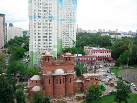 Выездное совещание по вопросам строительства храмов в Юго-Западном округе столицы