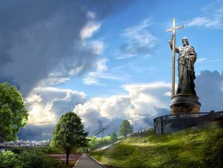 День памяти Святого равноапостольного великого князя Владимира, во Святом Крещении Василия. День Крещения Руси